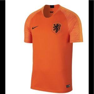 New Nike Netherlands Stadium Home Jersey